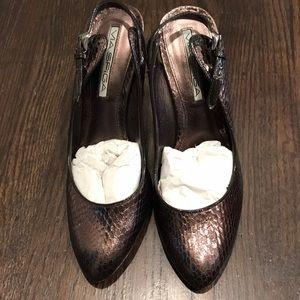 Via Spiga sling-back heels, size 5